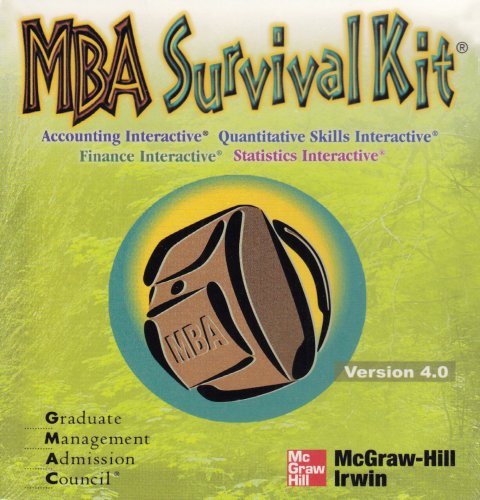 9780073044569: GMAC MBA Survival Kit (4 CD-set)