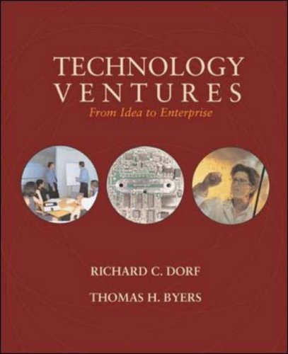 9780073044668: Technology Ventures: From Idea to Enterprise w/ Engineering Subscription Card