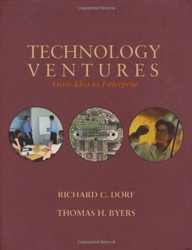 9780073044668: Technology Ventures: From Idea to Enterprise w/Engineering Subscription Card