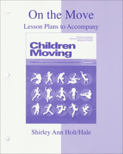 9780073045368: On the Move: Lesson Plans to accompany Children Moving