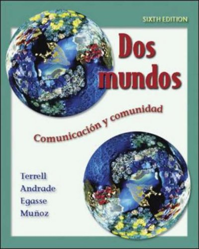 9780073046075: Dos mundos Student Edition with Online Learning Center Bind-in Passcode (McGraw-Hill World Languages)