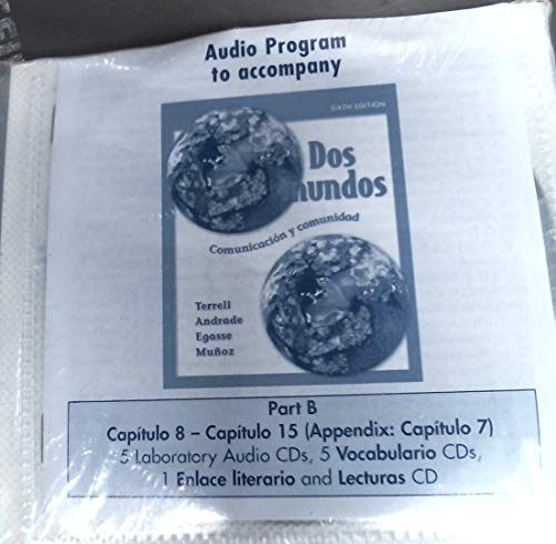 9780073046099: Student Audio CD Program Part B Prepack t/a Dos mundos
