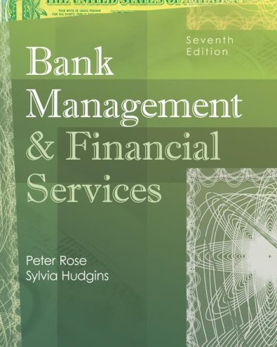 9780073046235: Bank Management & Financial Services (McGraw-Hill/Irwin Series in Finance, Insurance and Real Estate)