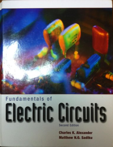 9780073047188: Fundamentals of Electric Circuits 2ND Edition