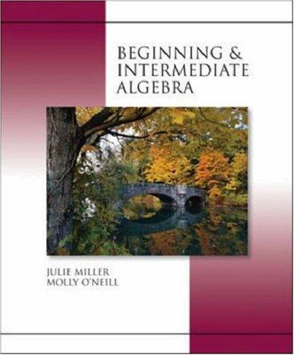 9780073047829: Beginning and Intermediate Algebra