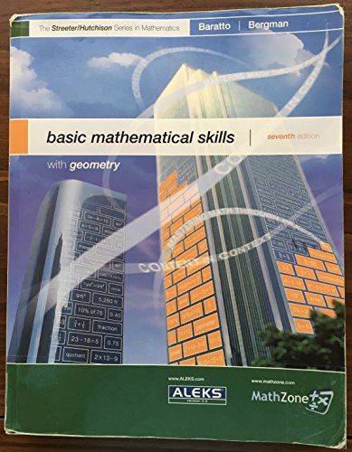 9780073048338: Basic Mathematical Skills With Geometry