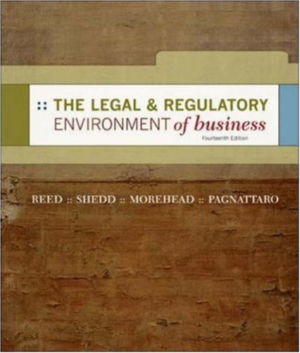 9780073048499: The Legal and Regulatory Environment of Business