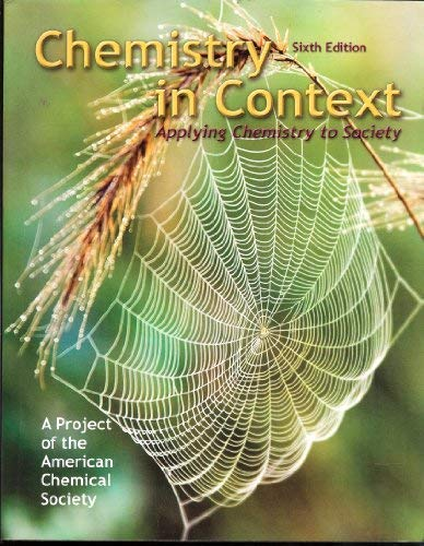 9780073048765: Chemistry in Context