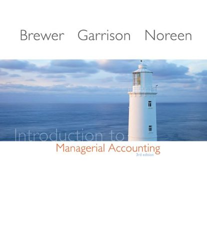 9780073048833: Introduction to Managerial Accounting