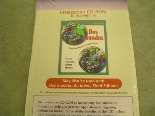 9780073049083: Student CD-ROM Program (Prepack) t/a Dos mundos