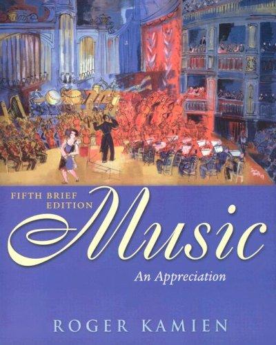 9780073049120: Music: An Appreciation (Book & CDs)