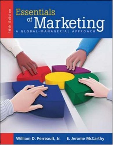 9780073049205: MP Essentials of Marketing w/ Student CD-ROM & Apps 2005