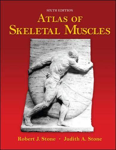 9780073049687: Atlas of Skeletal Muscles (Us Edt)