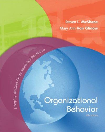 9780073049779: Organizational Behavior