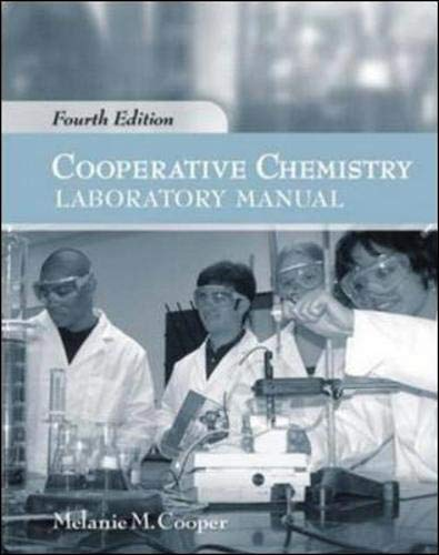 9780073050232: Cooperative Chemistry Lab Manual