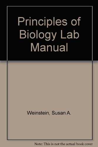 9780073050515: Principles of Biology Lab Manual