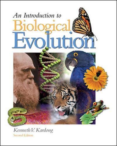 9780073050775: Introduction to Biological Evolution