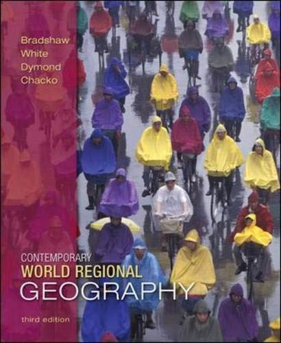9780073051505: Contemporary World Regional Geography