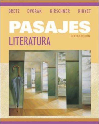 9780073051703: Pasajes:  Literatura