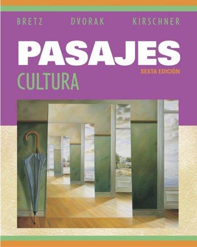 9780073051710: Pasajes: Cultura