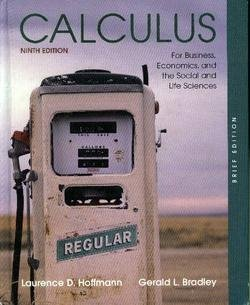 9780073051918: Calculus for Business, Economics, and the Social and Life Sciences