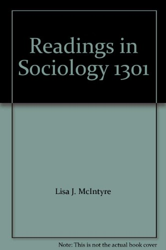 sociology lisa j mcintyre hernando washington Core concepts in sociology and the practical skeptic: readings in sociology, 3/e lisa j mcintyre, washington state university.