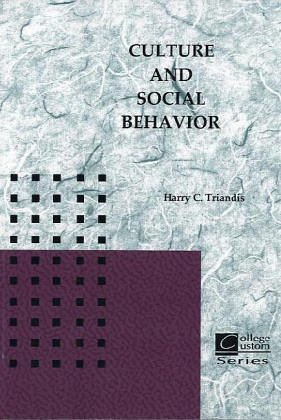 9780073052601: Culture and Social Behavior