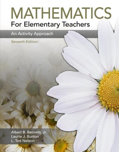 9780073053707: Mathematics for Elementary Teachers: An Activity Approach
