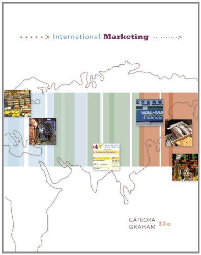 9780073080062: International Marketing (Mcgraw Hill/Irwin Series in Marketing)