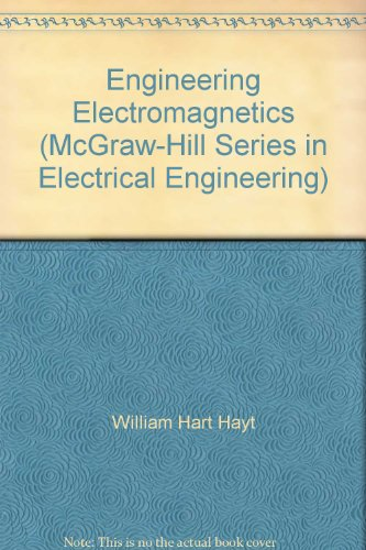 9780073080130: Engineering Electromagnetics (McGraw-Hill Series in Electrical Engineering)