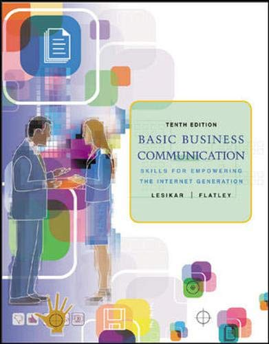 9780073080178: Basic Business Communication: Skills For Empowering the Internet Generation w/Student CD, B-Comm Skill Booster, and PowerWeb