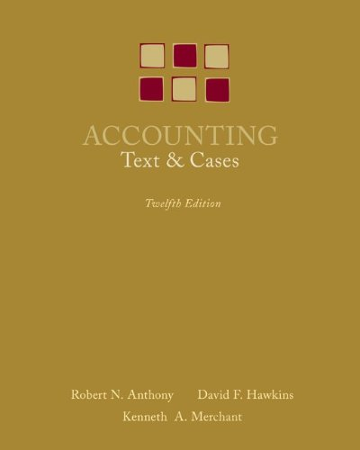 9780073100913: Accounting: Texts and Cases