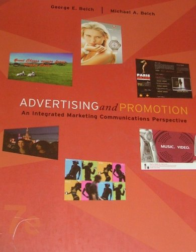 9780073101262: Advertising and Promotion: An Integrated Marketing Communications Perspective