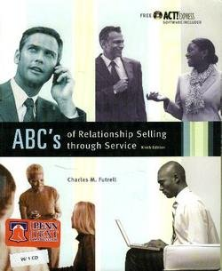 9780073101323: ABCs of Relationship Selling (Mcgraw-Hill/Irwin Series in Marketing)