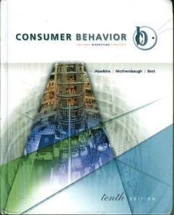 9780073101378: Consumer Behavior: Building Marketing Strategy