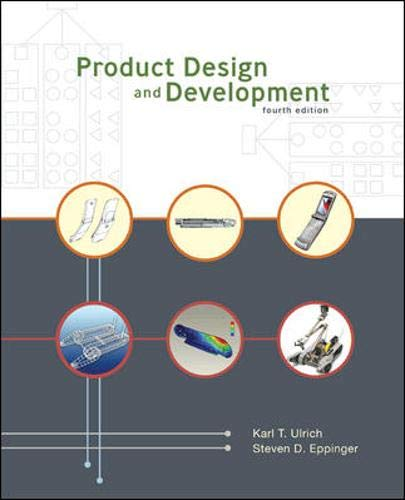 9780073101422: Product Design and Development, 4th Edition