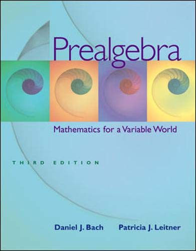 9780073101576: Prealgebra: Mathematics for a Variable World w/ MathZone Student Access Code