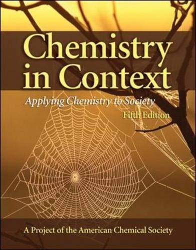 9780073101590: Chemistry in Context: Applying Chemistry To Society