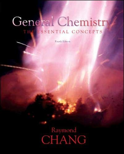 9780073101682: General Chemistry: The Essential Concepts