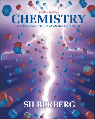 9780073101699: Chemistry: The Molecular Nature of Matter and Change