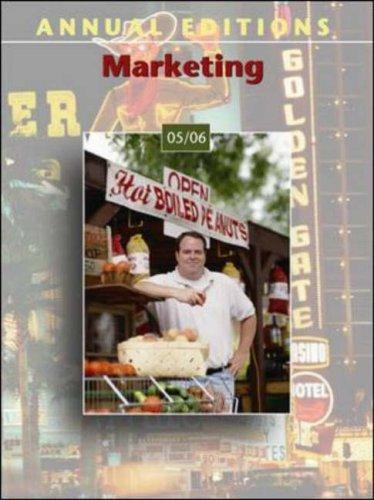 Annual Editions: Marketing 05/06: Richardson, John E