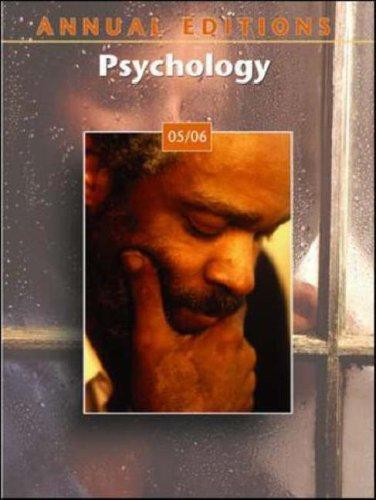 Annual Editions: Psychology 05/06: Duffy, Karen G