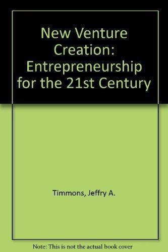 9780073102795: New Venture Creation: Entrepreneurship for the 21st Century