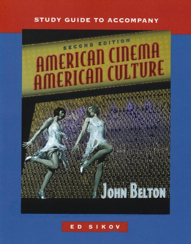 9780073102870: Study Guide to Accompany American Cinema/American Culture