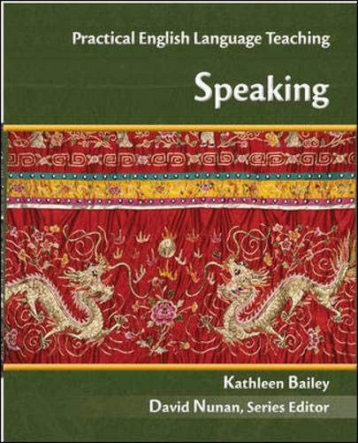 9780073103105: Speaking (Practical English Language Teaching Series) (ELT PELTS)