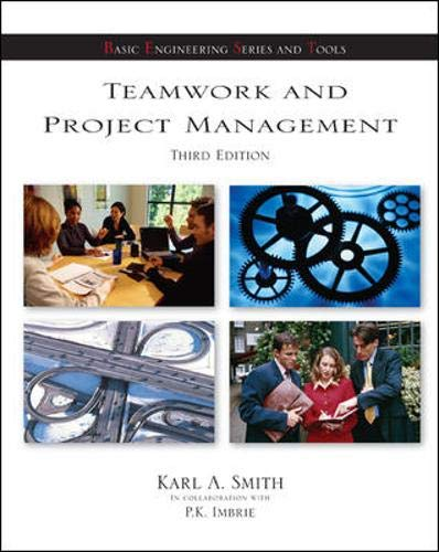 9780073103679: Teamwork and Project Management (McGraw-Hill's Best: Basic Engineering Series and Tools)