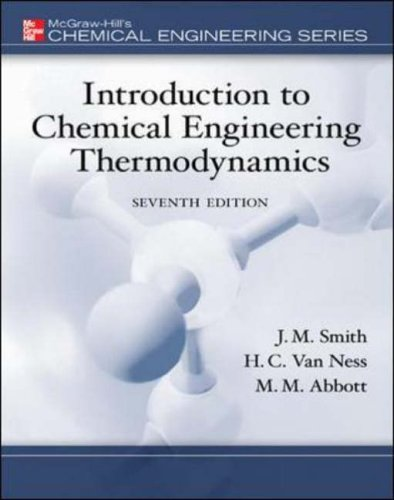 9780073104454: Introduction to Chemical Engineering Thermodynamics (McGraw-Hill Series in Civil and Environmental Engineering)