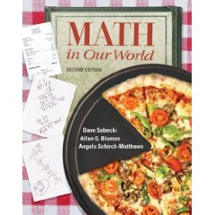 9780073104591: Math in Our World (2nd) INSTRUCTOR'S EDITION