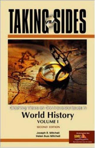 9780073104836: Taking Sides: v. 1: World History (Taking Sides: World History Vol I)