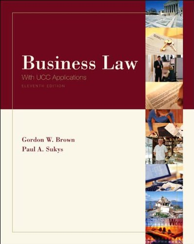 9780073104997: Business Law with UCC Applications (11th Edition)